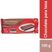 Chocolate para taza Carrefour 100 g.
